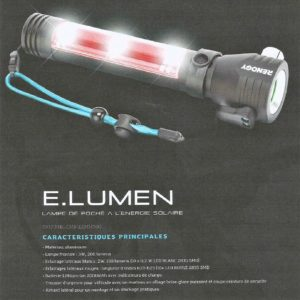 lampe de poche solaire