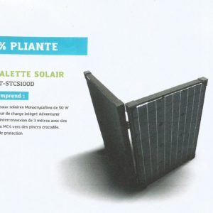 Malette solaire